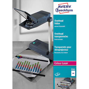 Avery Zweckform OHP Laserfolie  130 µm