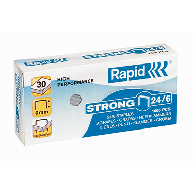 Rapid Heftklammer Strong  24/6