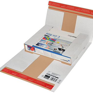 ColomPac® Versandkarton Flexi-Box  35 x -7 x 26 cm (B x H x T)