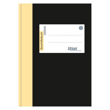Ursus® Geschäftsbuch  DIN A6 kariert