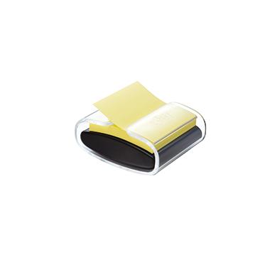 Post-it® Haftnotizspender Super Sticky Z-Notes  schwarz/transparent