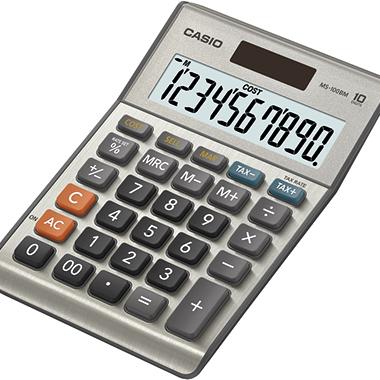CASIO® Tischrechner MS-100BM