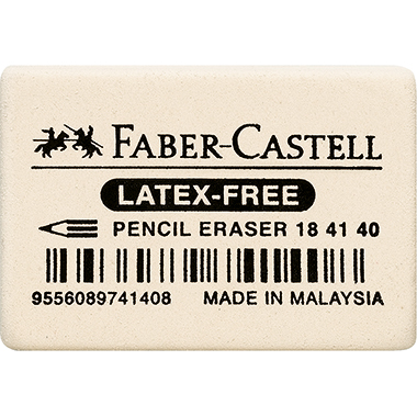 Faber-Castell Radierer 2,5 x 0,7 x 3,7 cm (B x H x L)