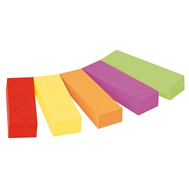 Post-it® Haftstreifen Page Marker schmal 5 Block/Pack.