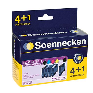 Soennecken Tintenpatrone  Epson T163