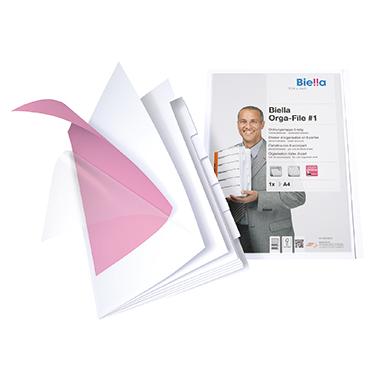 Biella Präsentationsmappe Orga File