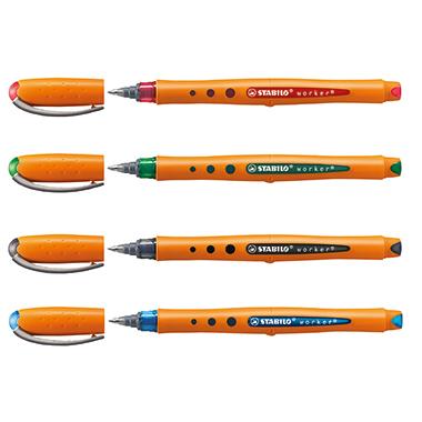 STABILO® Tintenroller worker®+ medium