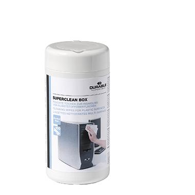DURABLE Reinigungstuch SUPERCLEAN BOX