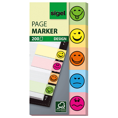 Sigel Haftmarker Design Smile