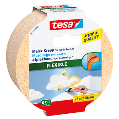 tesa® Kreppband Flexible ecoLogo®