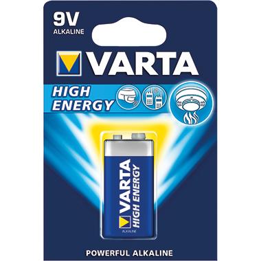 Varta Batterie High Energy E-Block 580 mAh