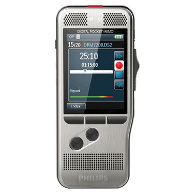 Philips Diktiergerät Digital Pocket Memo DPM 7200