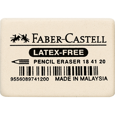 Faber-Castell Radierer 2,7 x 1 x 4 cm (B x H x L)