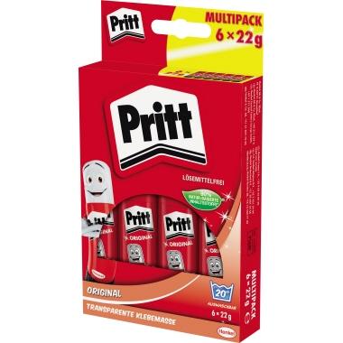 Pritt Klebestift Original Multipack 6 x 22 g