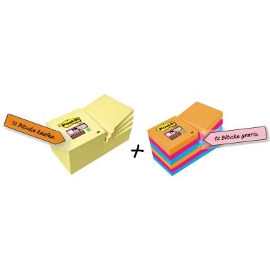 Post-it® Haftnotiz Super Sticky Notes Promotion