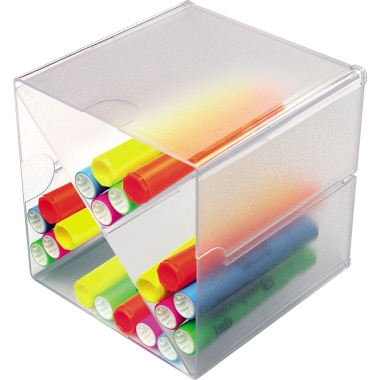Deflecto® Organisationsbox CUBE