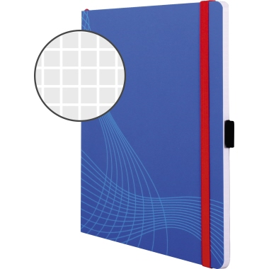 Avery Zweckform Notizbuch Notizio  blau
