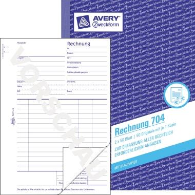 Avery Zweckform Rechnung