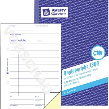 Avery Zweckform Regiebericht