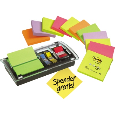 Post-it® Haftnotiz Z-Notes Promotion Pack