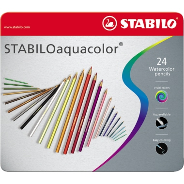 STABILO® Farbstift aquacolor®  24 St./Pack.