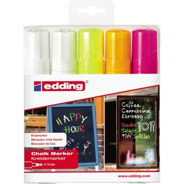 edding Kreidemarker 4090  5 St./Pack.