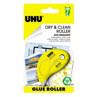 UHU® Kleberoller Dry & Clean non permanent