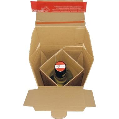 ColomPac® Versandkarton  für 1 Flasche