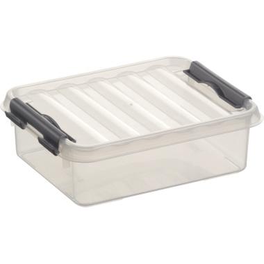 Sunware Aufbewahrungsbox Q-Line  15 x 6 x 20 cm (B x H x T)