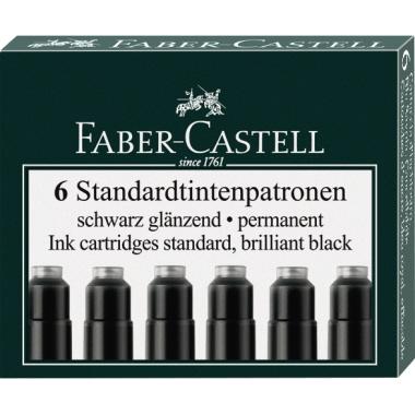 Faber-Castell Tintenpatrone Standard nicht löschbar