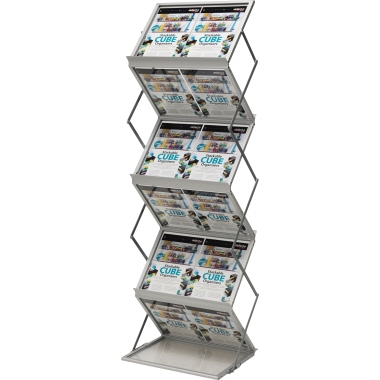 Deflecto® Prospektständer 50 x 150 x 37 cm (B x H x T)