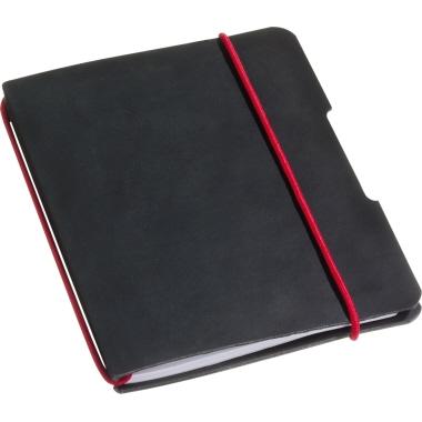 Herlitz Notizbuch my.book flex DIN A4 4fach Lochung Lederoptik schwarz