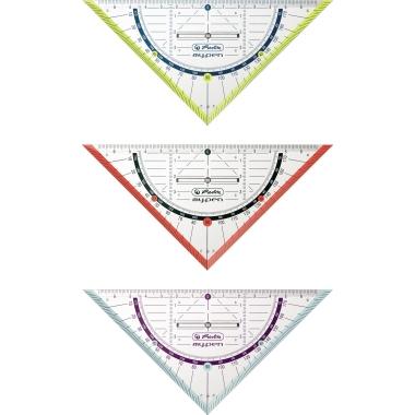 Herlitz Geometriedreieck my.pen mit Griff