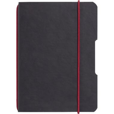 Herlitz Notizbuch my.book flex DIN A5 Lederoptik schwarz