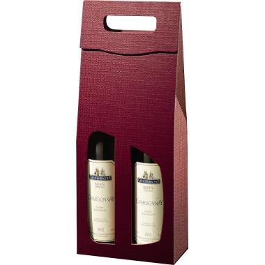Geschenktragetasche Struktura Vita  2 Flaschen