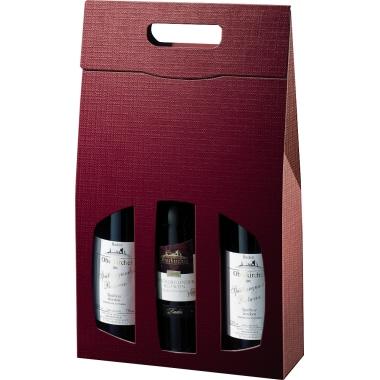 Geschenktragetasche Struktura Vita 3 Flaschen