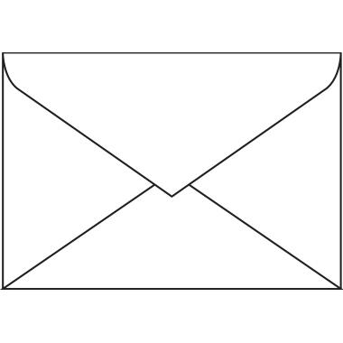 Sigel Briefumschlag DIN C6 ohne Fenster