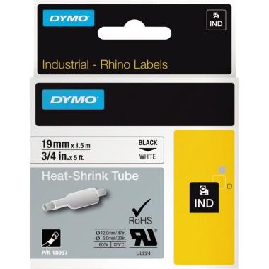 DYMO® Schrumpfschlauch  19 mm x 1,5 m (B x L)