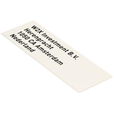 Leitz Schriftbandetikett Icon 28 x 88 mm (B x L)