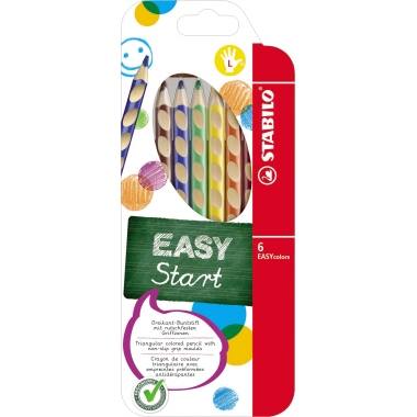 STABILO® Farbstift EASYcolors 6 St./Pack.