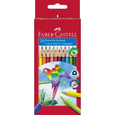 Faber-Castell Farbstift Triangular