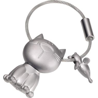 TROIKA® Schlüsselanhänger  Katze, Maus