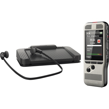 Philips Diktiergerät Digital Pocket Memo Starter Kit DPM 6700