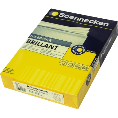 Soennecken Kopierpapier Brillant  500 Bl./Pack.