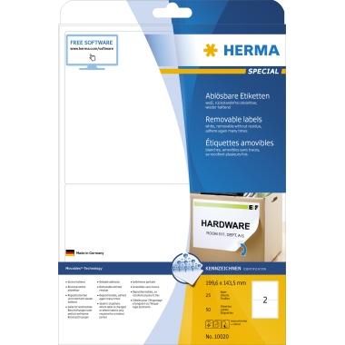 HERMA Haftetikett SPECIAL  199,6 x 143,5 mm (B x H)