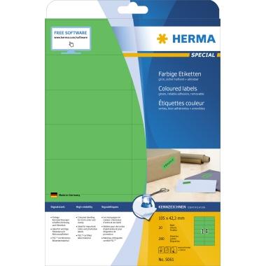 HERMA Universaletikett SPECIAL  105 x 42,3 mm (B x H)