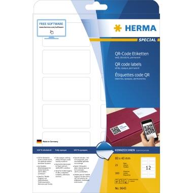 HERMA QR-Code Etikett SPECIAL  300 Etik./Pack.