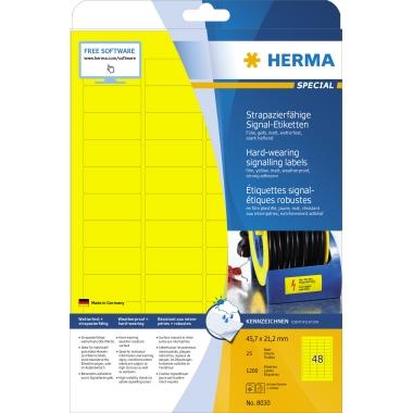 HERMA Folienetikett  45,7 x 21,2 mm (B x H)