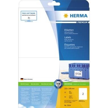 HERMA Universaletikett PREMIUM  210 x 148 mm (B x H)