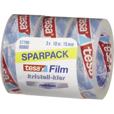 tesa® Klebefilm tesafilm® kristall-klar  3 Rl./Pack.